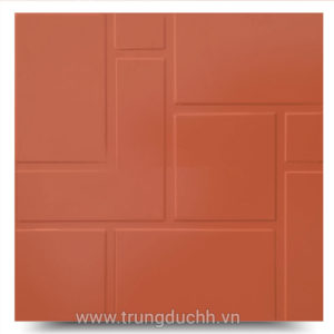 Gạch đỏ tráng men Hoàng Hà 40×40 HD402