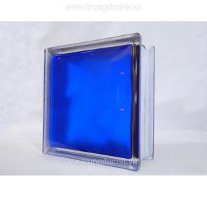 Gạch kính lấy sáng indonesia 19x19cm mặt mịn màu xanh dương
